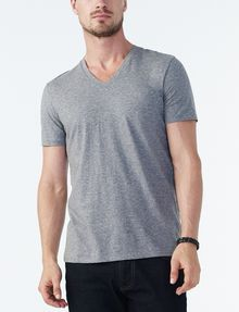 ARMANI EXCHANGE PIMA V-NECK Short Sleeve Tee U f