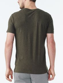 ARMANI EXCHANGE PIMA V-NECK Pima Tee Man r