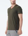 ARMANI EXCHANGE PIMA V-NECK Pima Tee U d