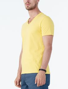 ARMANI EXCHANGE PIMA V-NECK Short Sleeve Tee U d