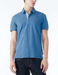 ARMANI EXCHANGE SOLID PIQUE POLO Polo Man f