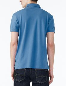 ARMANI EXCHANGE SOLID PIQUE POLO Short-sleeved polo U r