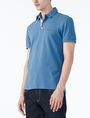 ARMANI EXCHANGE SOLID PIQUE POLO Polo Man d
