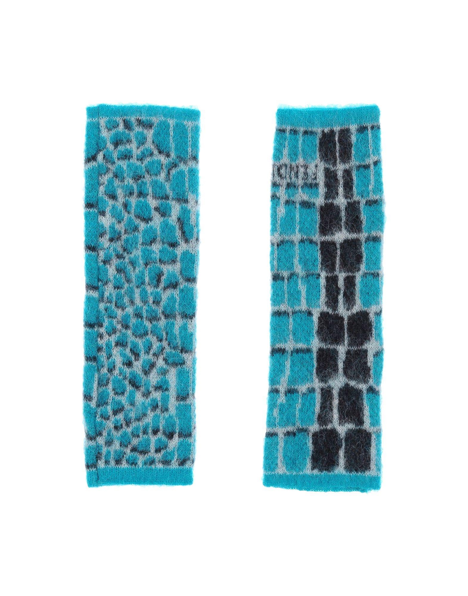 FENDI Перчатки fendi шерстяные перчатки с логотипом
