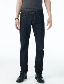 ARMANI EXCHANGE DARK RINSE SLIM JEAN Slim Fit Denim U f