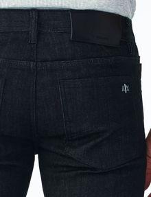ARMANI EXCHANGE RIGID BLACK RINSE SKINNY JEAN Skinny jeans U e