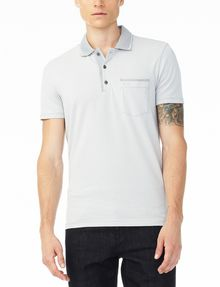 ARMANI EXCHANGE CONTRAST YOKE PIQUE POLO Polo U f