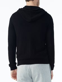 ARMANI EXCHANGE TEXTURED FULL-ZIP HOODIE Layering U r