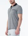 ARMANI EXCHANGE CONTRAST YOKE PIQUE POLO Polo U d