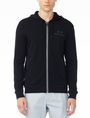 ARMANI EXCHANGE SIGNATURE LOGO HOODIE Fleece Jacket U f