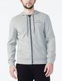 ARMANI EXCHANGE SIGNATURE LOGO HOODIE Fleece Jacket Man f
