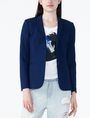 ARMANI EXCHANGE STRUCTURED PONTE BLAZER Blazer Woman f