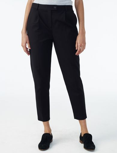 ARMANI EXCHANGE CRISP PLEAT TROUSER Woman front