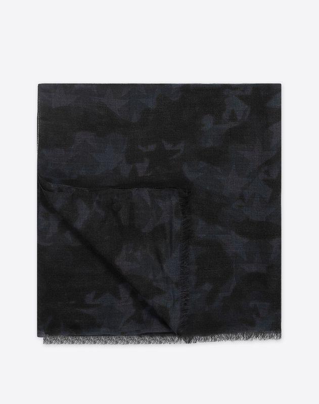 Принтованный шарф
