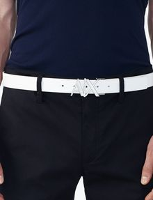 ARMANI EXCHANGE A|X REVERSIBLE HINGE BELT Belt U d