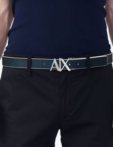ARMANI EXCHANGE A|X REVERSIBLE HINGE BELT Belt Man e