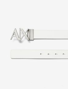 ARMANI EXCHANGE A|X REVERSIBLE HINGE BELT Belt U f