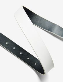 ARMANI EXCHANGE A|X REVERSIBLE HINGE BELT Belt Man r