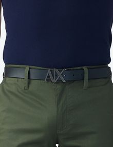 ARMANI EXCHANGE A|X REVERSIBLE HINGE BELT Belt U e
