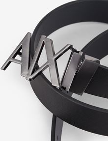 ARMANI EXCHANGE A|X REVERSIBLE HINGE BELT Belt U r