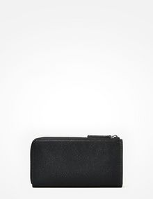 ARMANI EXCHANGE CONTRAST ZIP PEBBLE WALLET Small leather good D r