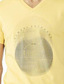 ARMANI EXCHANGE OPTICAL V-NECK Logo Tee U e