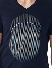 ARMANI EXCHANGE OPTICAL V-NECK Logo T-shirt U e