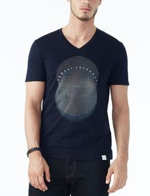 ARMANI EXCHANGE OPTICAL V-NECK Logo Tee U f