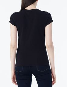 ARMANI EXCHANGE SHORT-SLEEVE A|X INSIGNIA TEE Non-logo Tee Woman r
