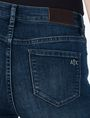 ARMANI EXCHANGE INDIGO SANDED SUPER-SKINNY JEAN Skinny Fit Denim D e