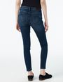 ARMANI EXCHANGE INDIGO SANDED SUPER-SKINNY JEAN Skinny Fit Denim D r