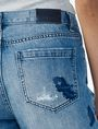 ARMANI EXCHANGE EMBROIDERED BOYFRIEND JEAN Boyfriend Denim Woman e