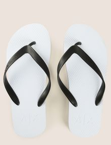 ARMANI EXCHANGE STRIPED SOLE FLIPFLOPS flip-flop [*** pickupInStoreShippingNotGuaranteed_info ***] e