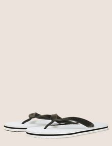 ARMANI EXCHANGE STRIPED SOLE FLIPFLOPS flip-flop [*** pickupInStoreShippingNotGuaranteed_info ***] r