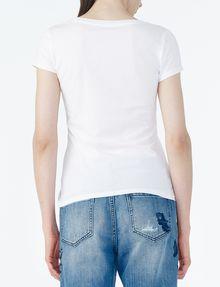 ARMANI EXCHANGE CLASSIC AX SCOOP NECK TEE Logo T-shirt Woman r