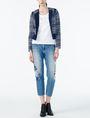 ARMANI EXCHANGE CLASSIC AX SCOOP NECK TEE Logo T-shirt Woman a