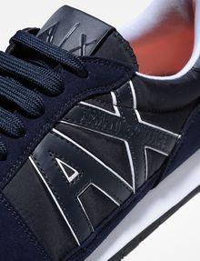 ARMANI EXCHANGE RETRO LOGO SNEAKERS Sneaker Homme a