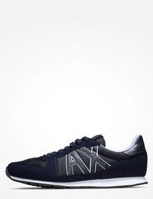 ARMANI EXCHANGE RETRO LOGO SNEAKERS Sneaker Homme f