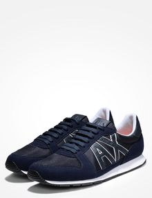 ARMANI EXCHANGE RETRO LOGO SNEAKERS Sneakers Man r