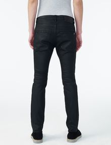 Armani Moto x Exchange Jeans JeanSlim Black Fit For Coated MenA tQChxsdBr