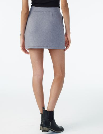 ARMANI EXCHANGE KNIT GEO-HEM SKIRT Woman retro