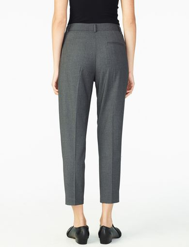 ARMANI EXCHANGE PLEATED SUITING TROUSER Woman retro