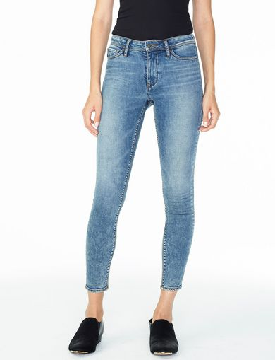 ARMANI EXCHANGE MEDIUM WASH SUPER-SKINNY JEAN Woman front