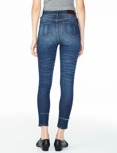 ARMANI EXCHANGE HIGH-RISE SUPER-SKINNY JEAN Woman retro