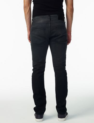 ARMANI EXCHANGE GARMENT-DYED SLIM JEAN Man retro