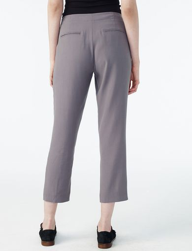 ARMANI EXCHANGE PLEAT DRAWSTRING TROUSER Woman retro