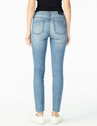 ARMANI EXCHANGE REPAIRED PATCH DETAIL SKINNY JEAN Woman retro