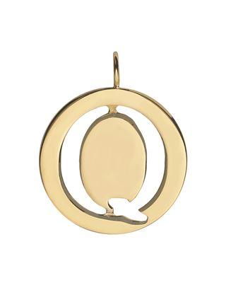 Q - Alphabet necklace pendant