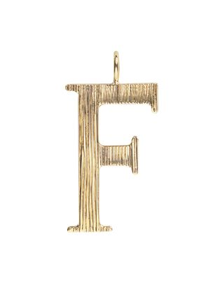 F - Alphabet necklace pendant