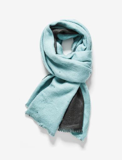 BICOLOR OVERSIZED SCARF